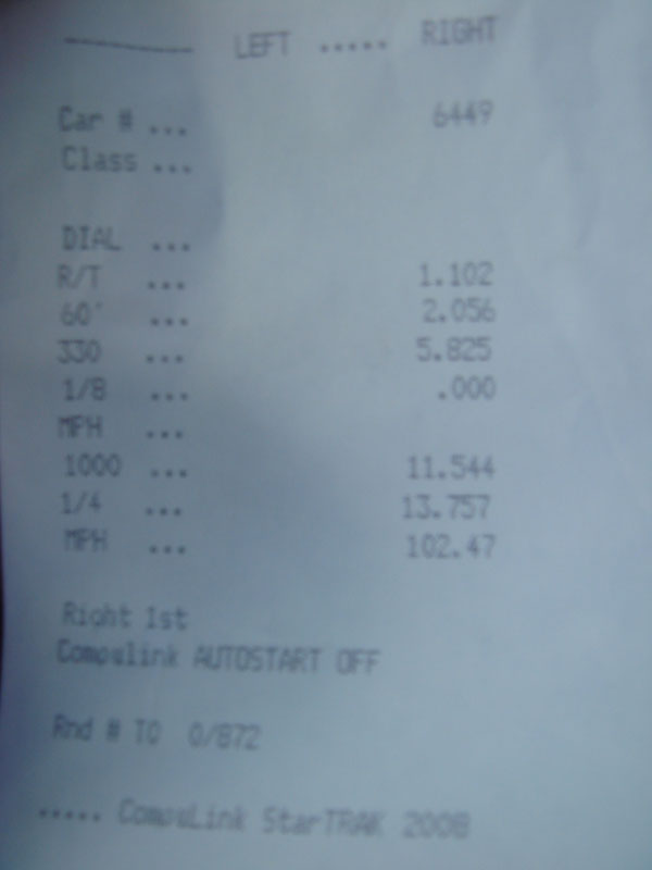 1994  Toyota Celica gt four Timeslip Scan