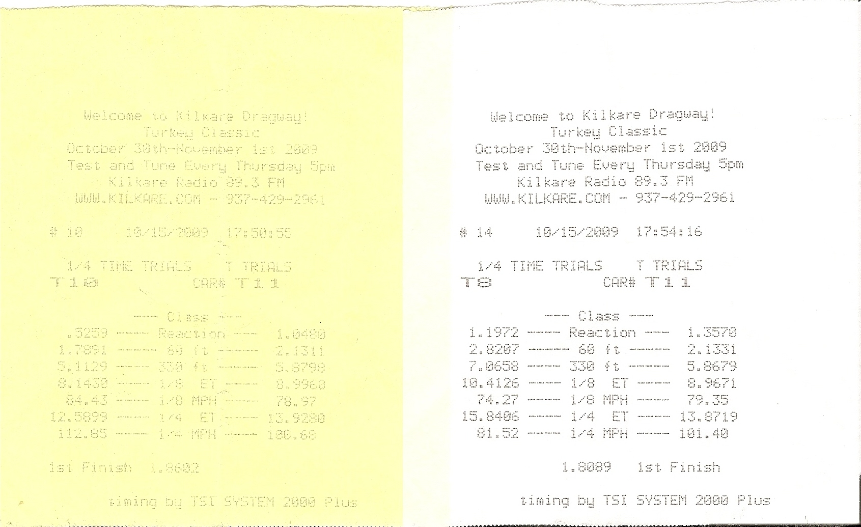 Buick Park Avenue Timeslip Scan