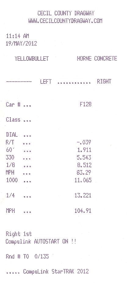 1998  Lincoln Mark VIII LSC Timeslip Scan