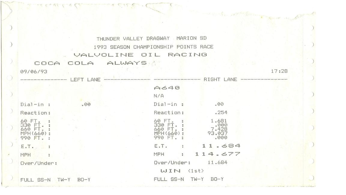 Ford Torino Timeslip Scan
