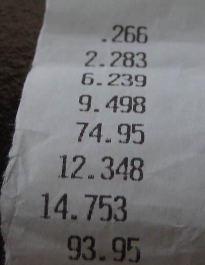 Toyota RAV4 Timeslip Scan