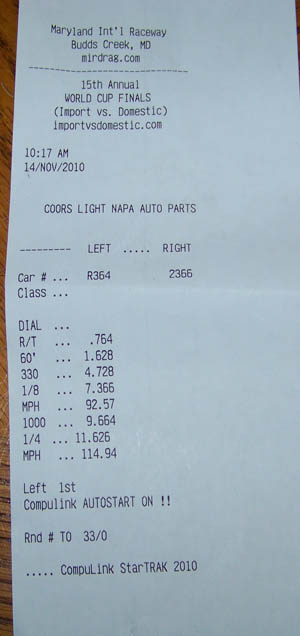 Buick Grand National Timeslip Scan