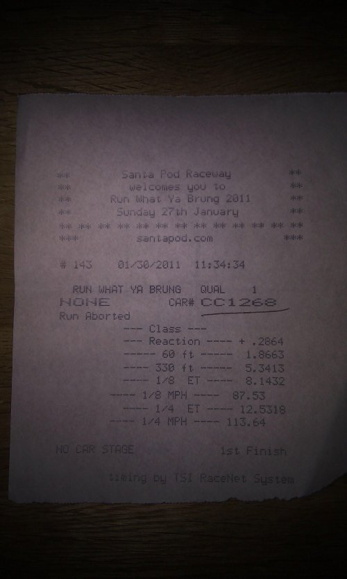 Audi S5 Timeslip Scan