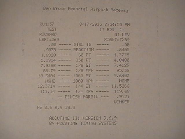 Toyota Tacoma Timeslip Scan