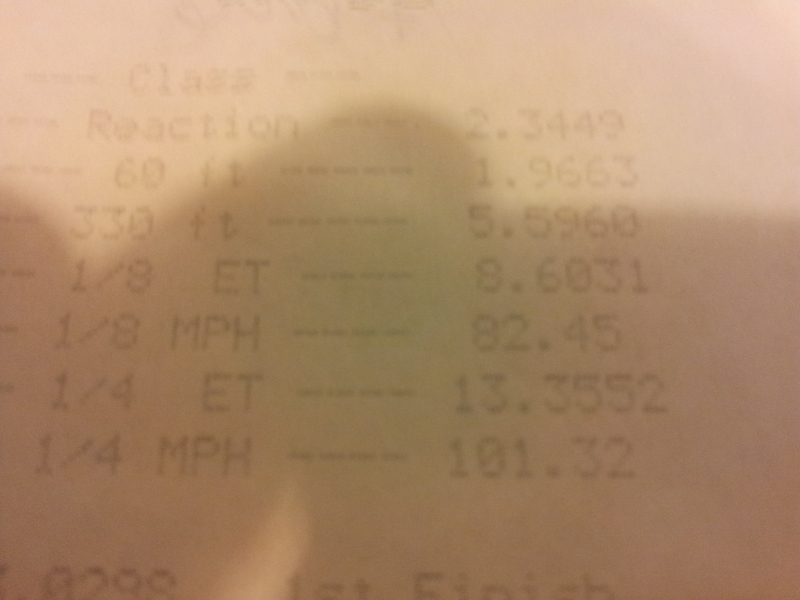 2008 Pontiac Grand Prix Gxp 1 4 Mile Trap Speeds 0 60 Dragtimes Com