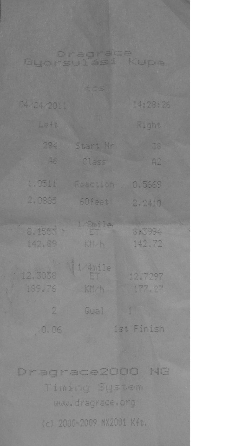 Daihatsu Charade Timeslip Scan