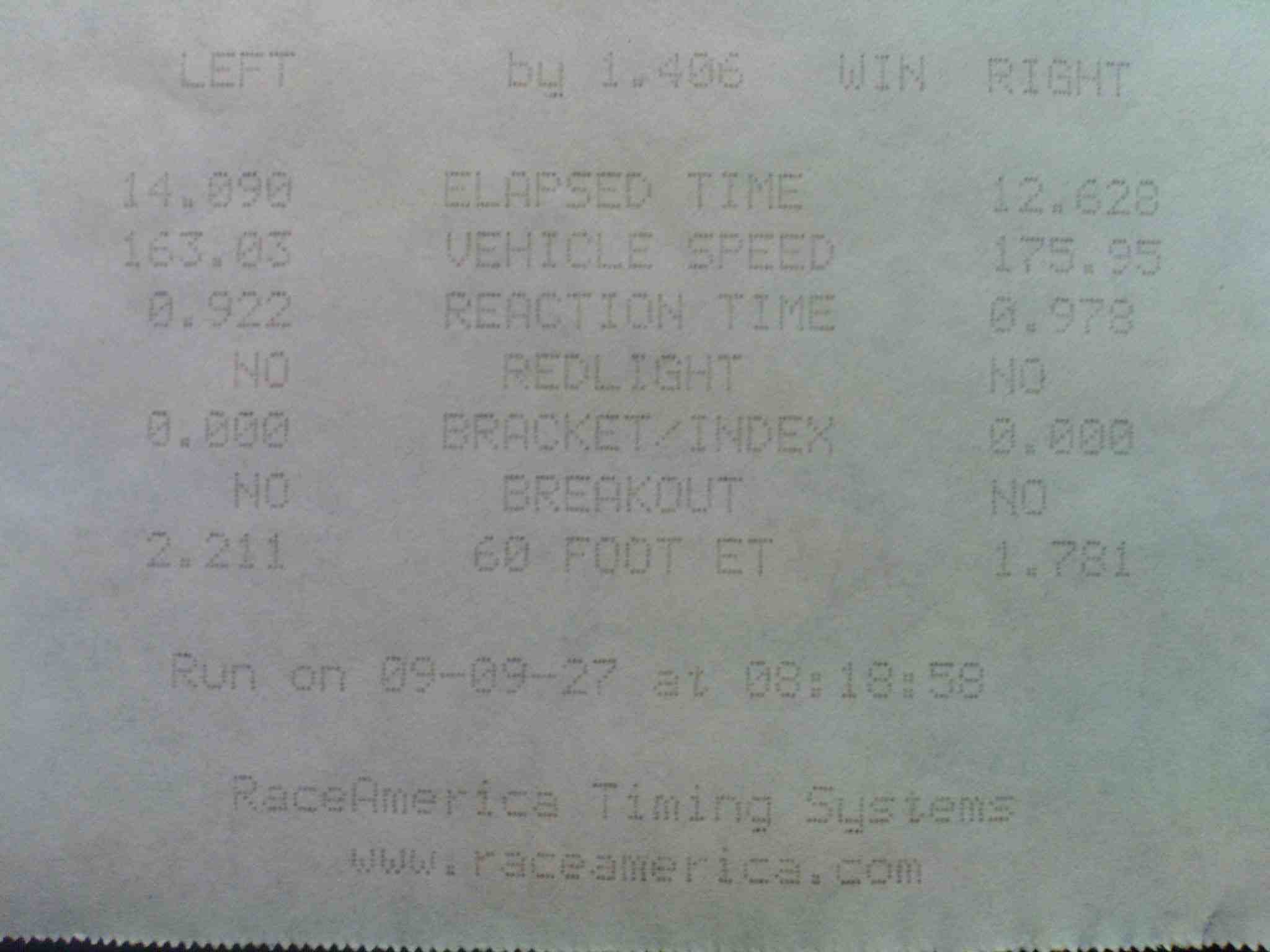 Mercedes-Benz SL500 Timeslip Scan