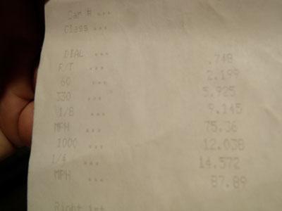 Honda XR Timeslip Scan