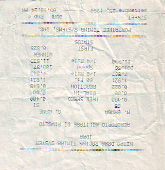 Harley-Davidson Sportster Timeslip Scan