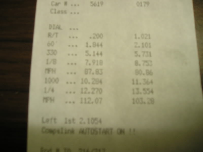 1992 BMW 325i LS1 Powered Timeslip Scan