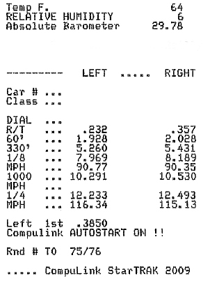 Lexus IS-F Timeslip Scan