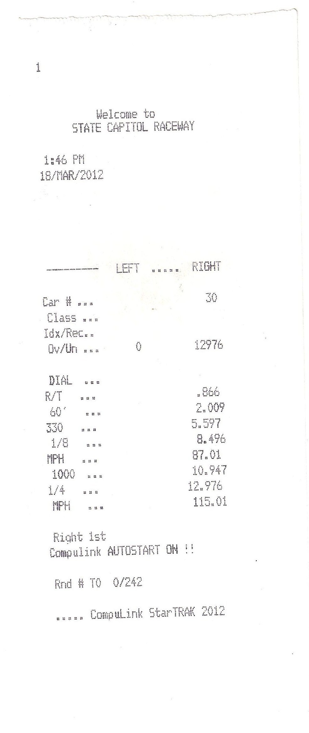 1995 Black Ford Mustang GT Timeslip Scan