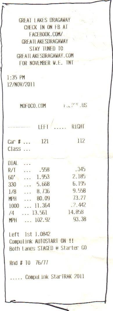 Mitsubishi 3000GT Timeslip Scan