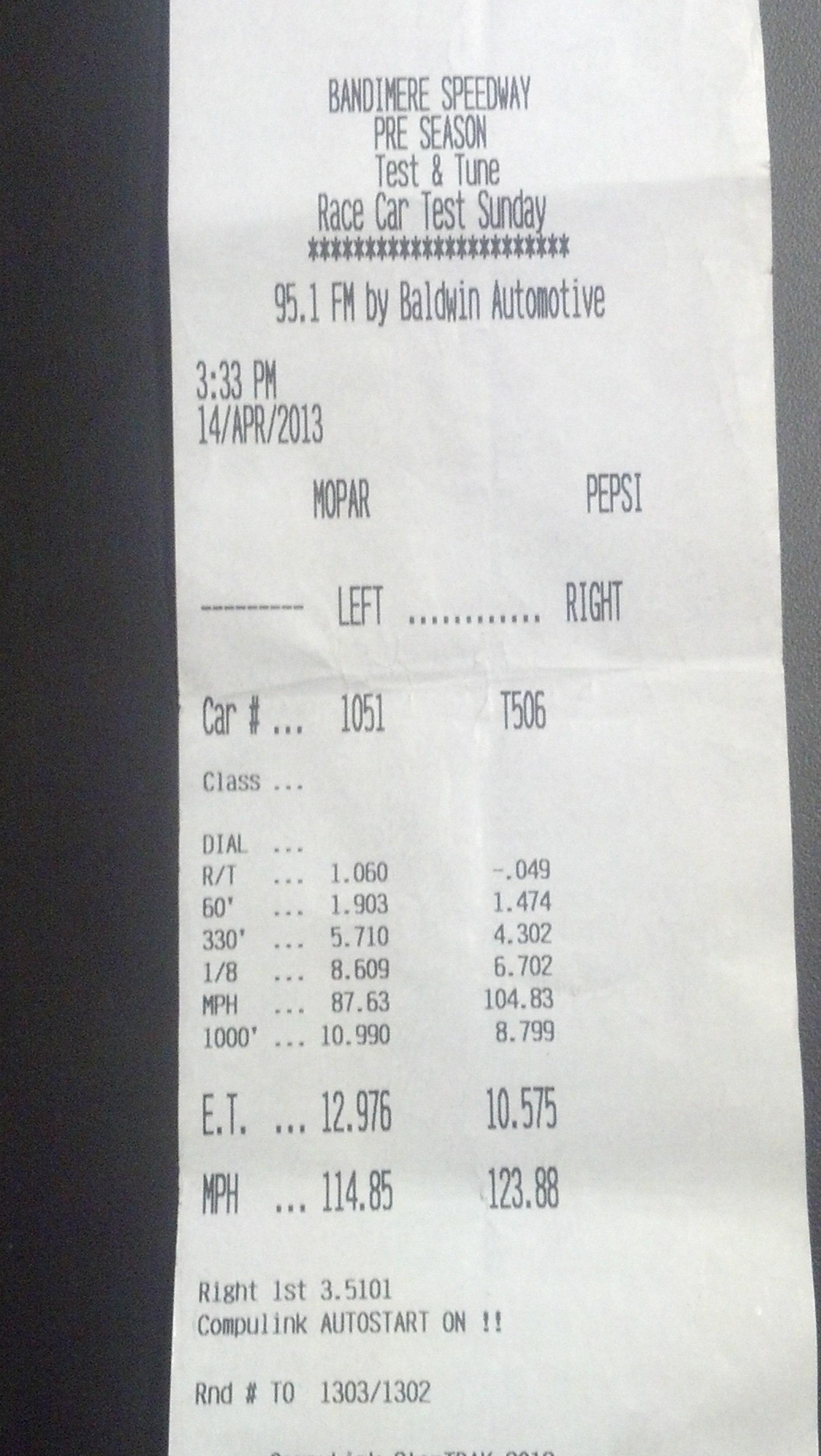 Saab 900 Timeslip Scan