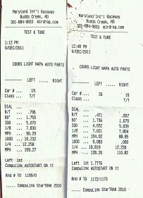 2008 Liquid Red Pontiac G8 GT Timeslip Scan