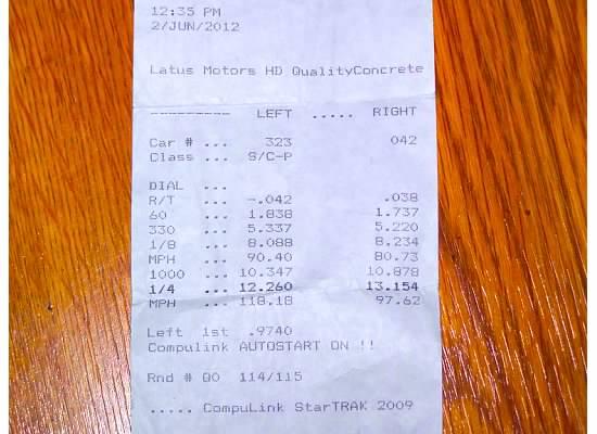 Volkswagen Corrado Timeslip Scan