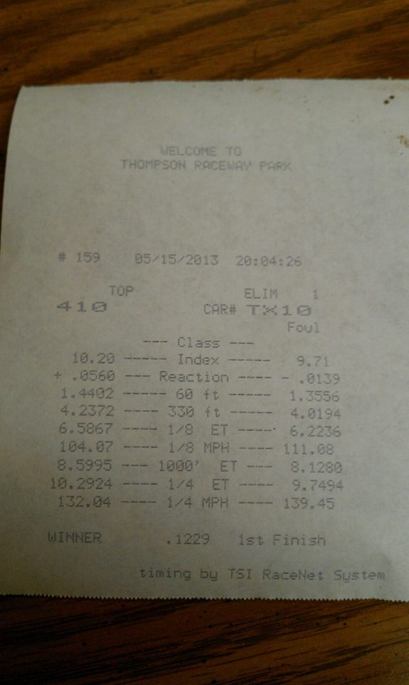 Dodge Magnum Timeslip Scan
