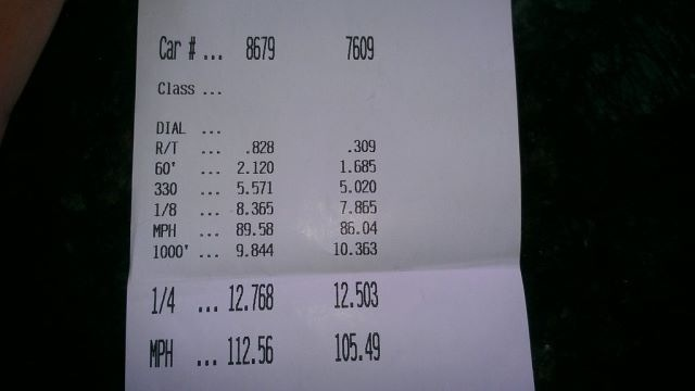 Chevrolet Tahoe Timeslip Scan