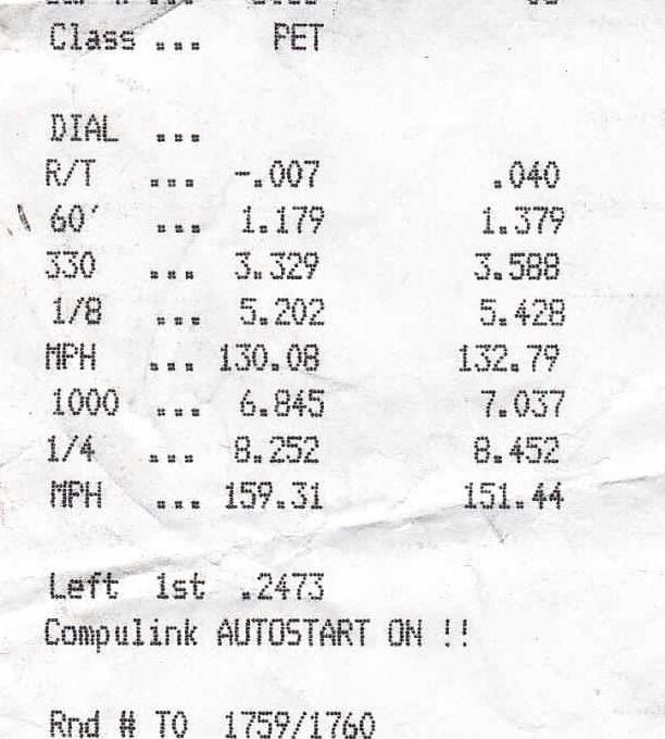 Kawasaki ZX Timeslip Scan