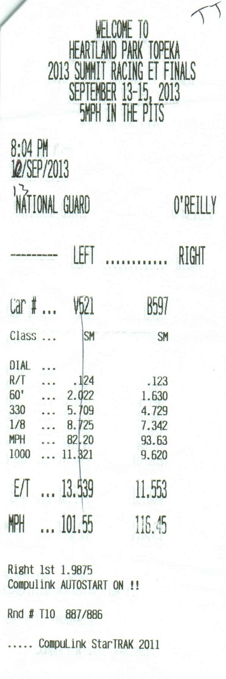 Plymouth Belvedere Timeslip Scan
