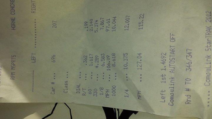 Yamaha YZF Timeslip Scan