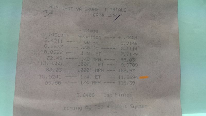 BMW 135i Timeslip Scan