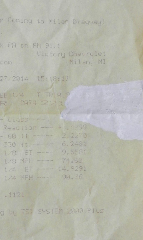 Chrysler Aspen Timeslip Scan
