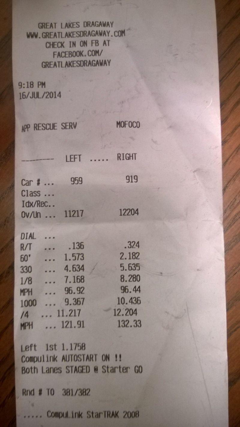 Lexus SC400 Timeslip Scan