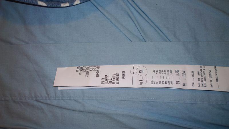 BMW 328Ci Timeslip Scan