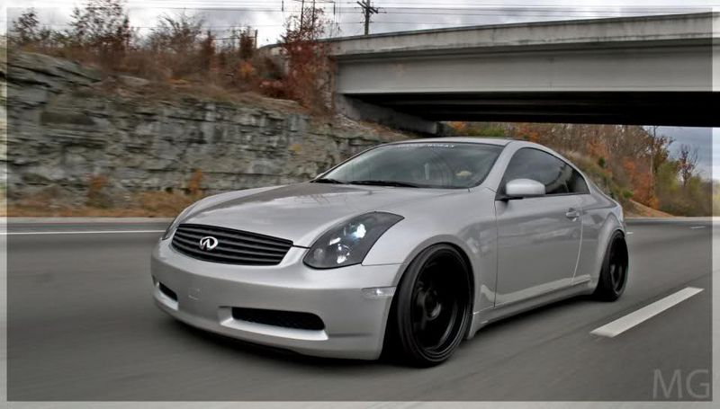 2003 Infiniti G35 Coupe  14 mile trap speeds 060  DragTimescom