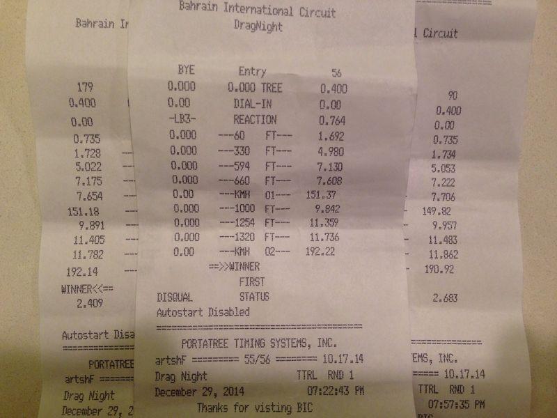 Jaguar XFR Timeslip Scan