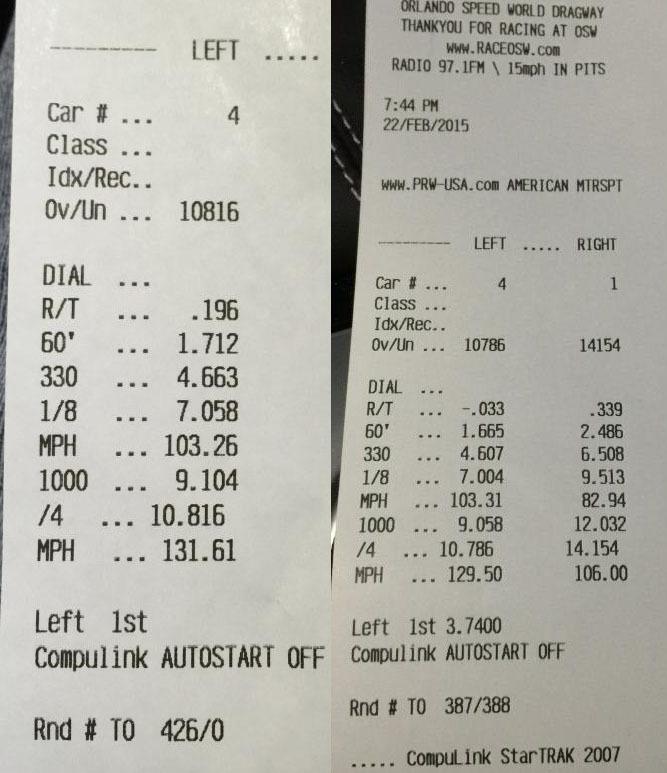 2015 Corvette Z06 With Automatic Transmission Runs 10 7 129 Mph Drag Racing 1 4 Mile