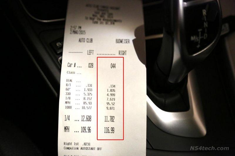 BMW 435i Timeslip Scan