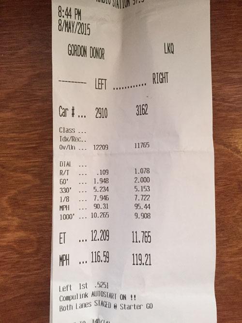 Ferrari F430 Timeslip Scan