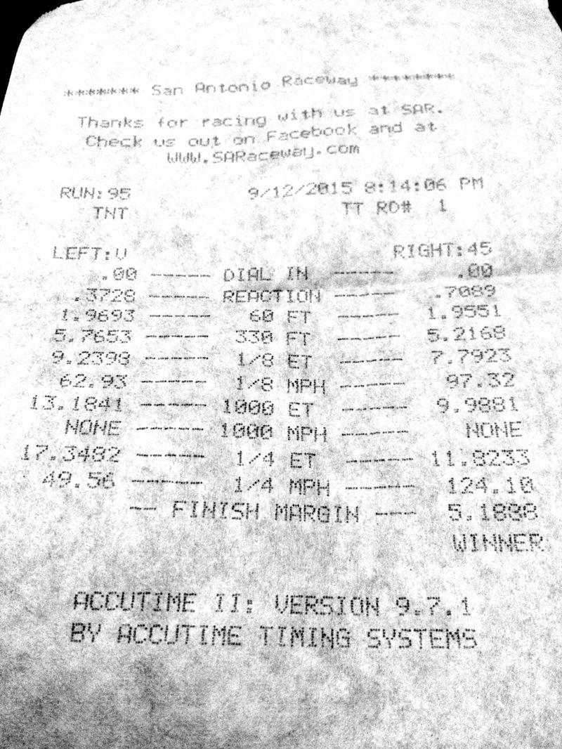 Infiniti G37 Timeslip Scan