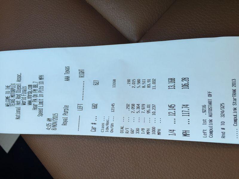 BMW 328i Timeslip Scan