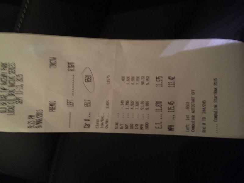 Audi S4 Timeslip Scan