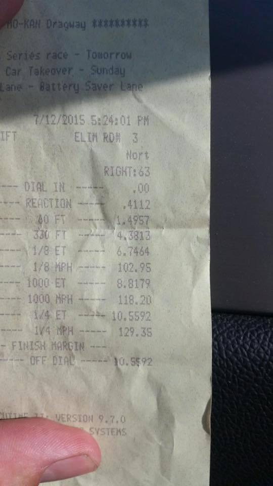 Subaru Impreza Timeslip Scan