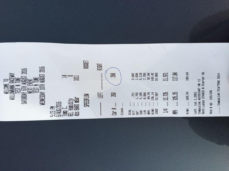 BMW M135i Timeslip Scan