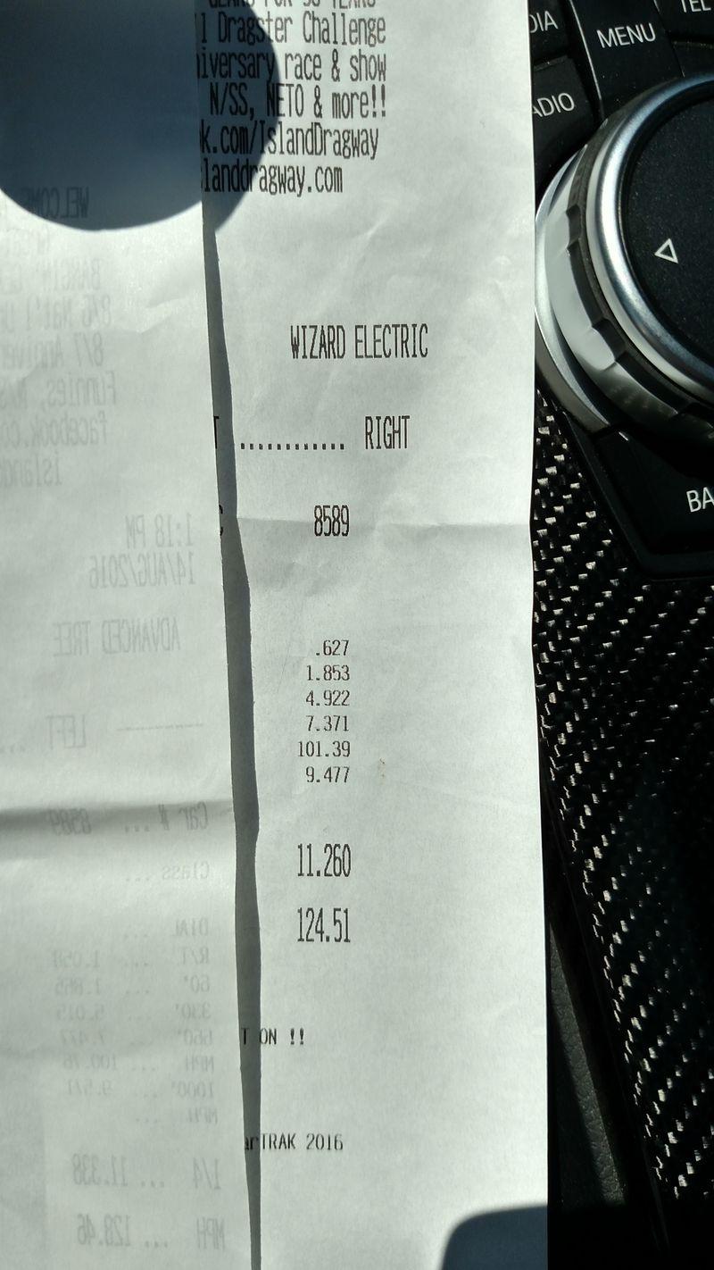 BMW M4 Timeslip Scan