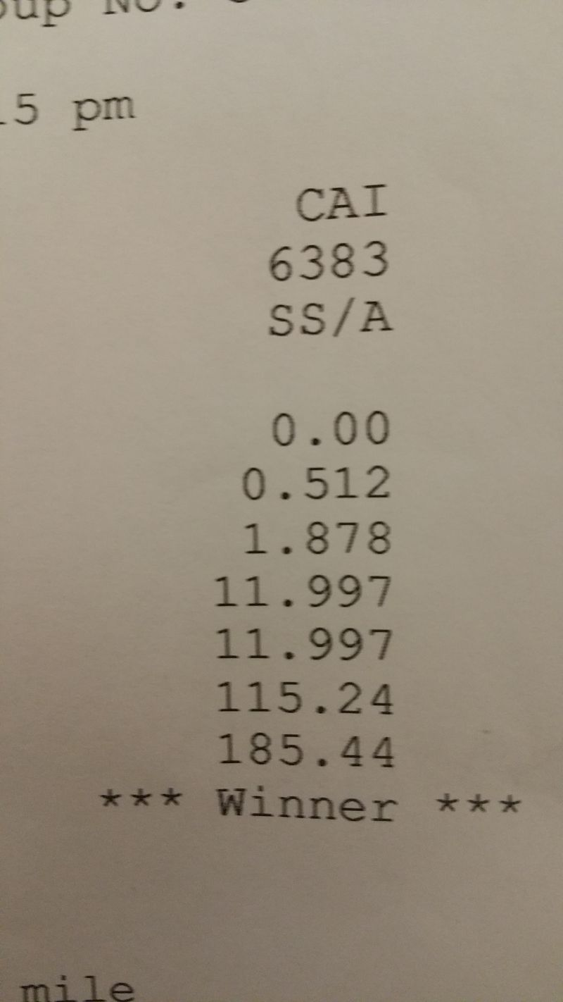 Toyota MR2 Timeslip Scan