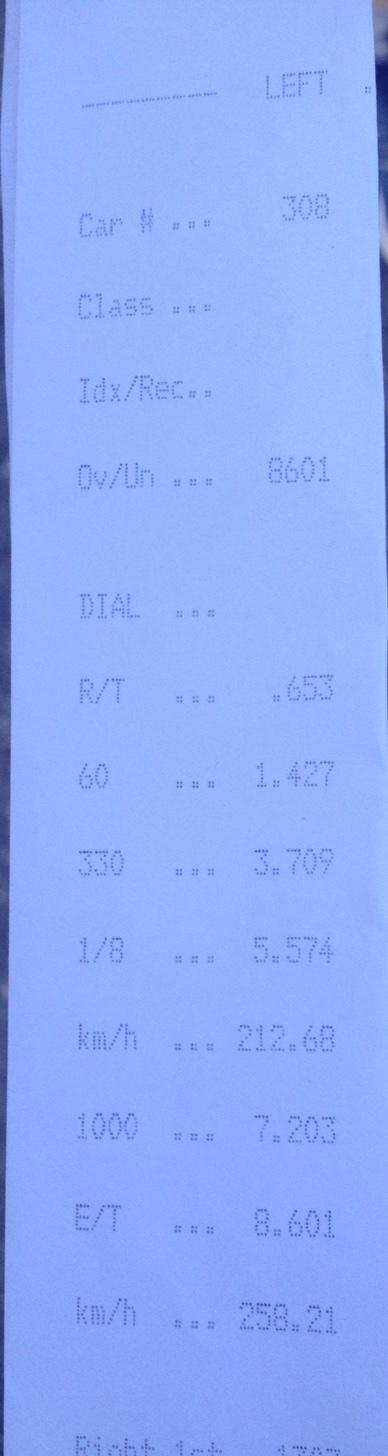 Lancia Integrale Timeslip Scan