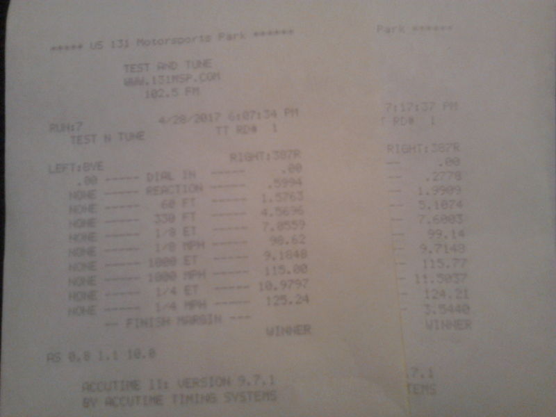 Jeep Cherokee Timeslip Scan