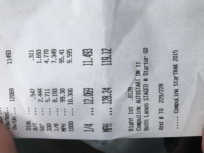 Audi S7 Timeslip Scan