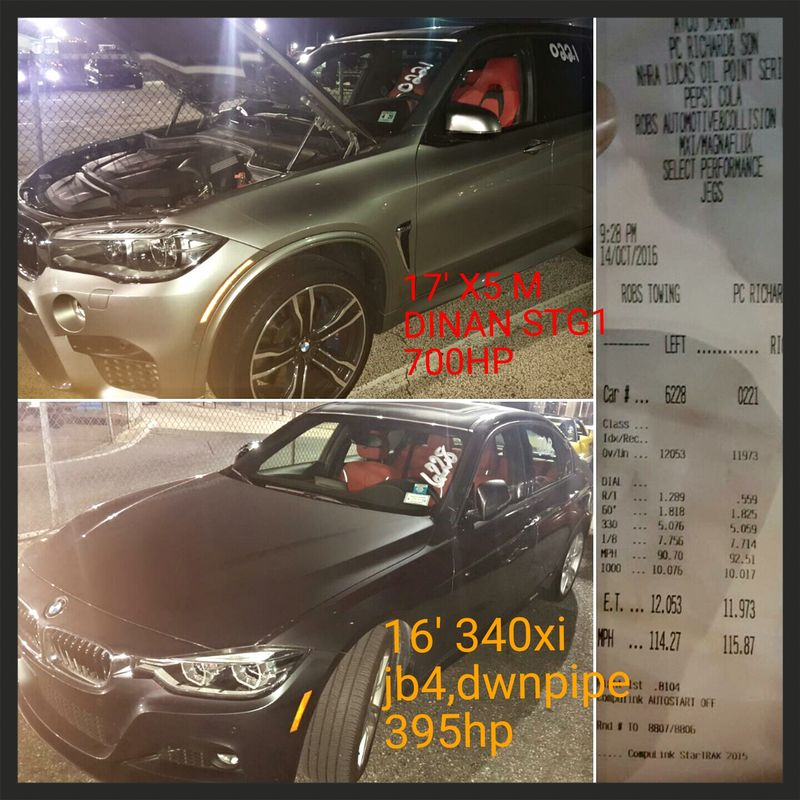 BMW 340xi Timeslip Scan