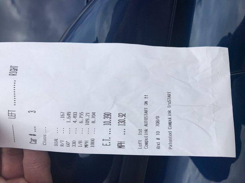 Mercedes-Benz E63 AMG Timeslip Scan