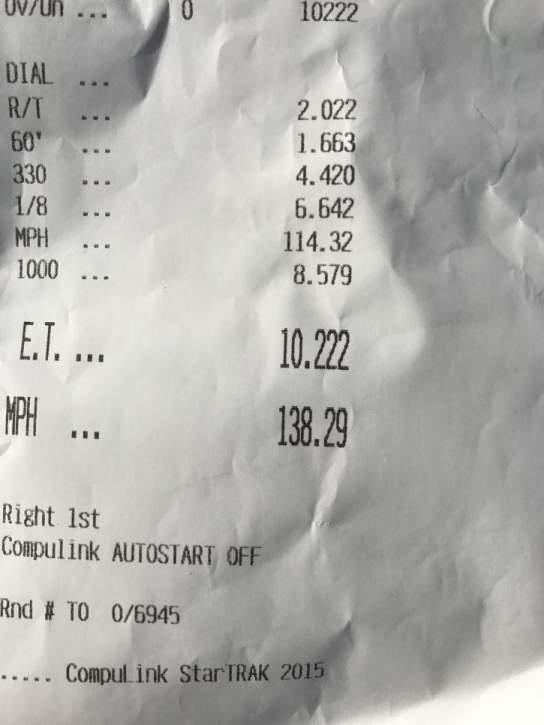McLaren 650S Timeslip Scan