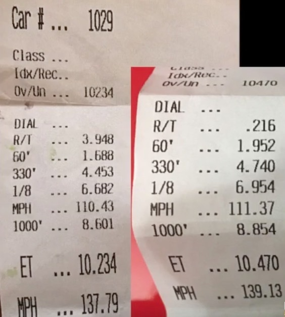 McLaren 675LT Timeslip Scan