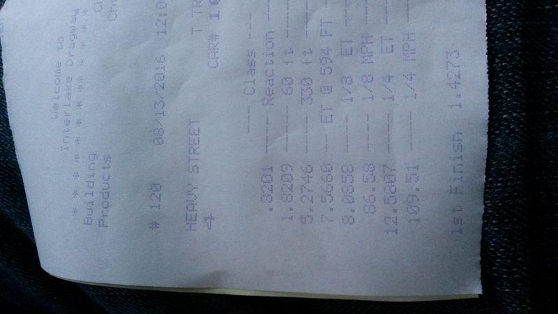 Datsun Pickup Timeslip Scan