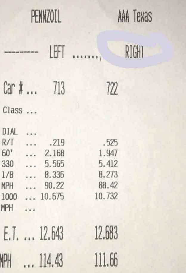 Audi A6 Timeslip Scan